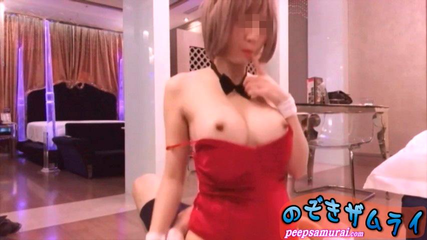 素人 - コリアンバニー娘の萌え萌えエッチ