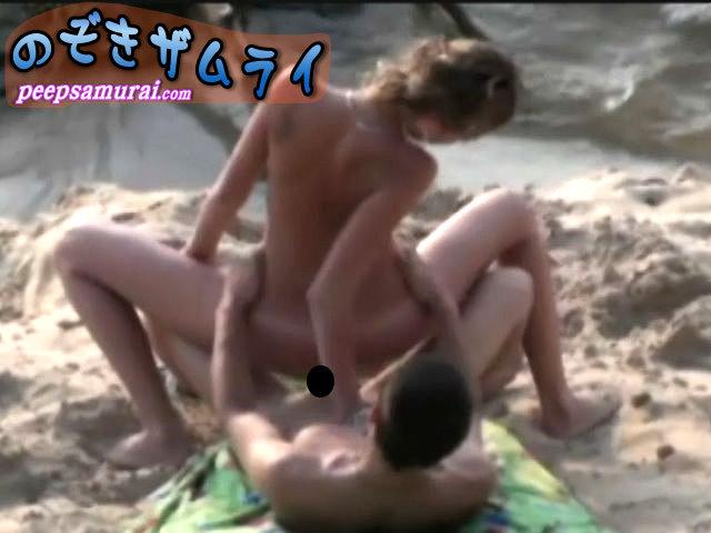 ヌーディストビーチで大胆な外人さん5