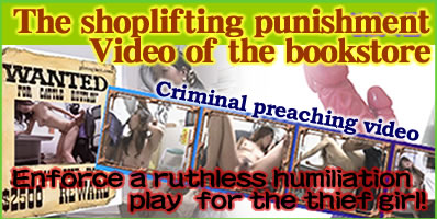 Shoplifting sanctions video of bookstore