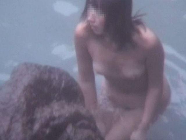 素人 - 秘湯!崖の下の楽園 part7