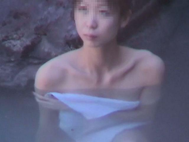 素人 - 秘湯!崖の下の楽園 part8