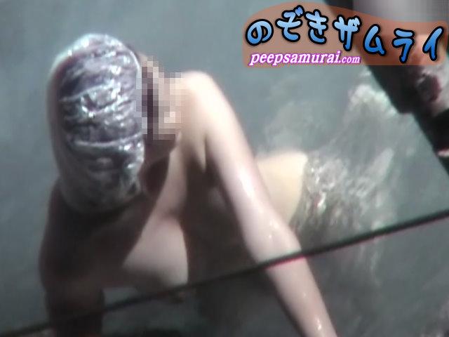 素人 - 秘湯!崖の下の楽園 part13