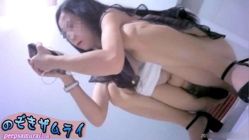 素人 - まるで透明人間!中華美女トイレ 3
