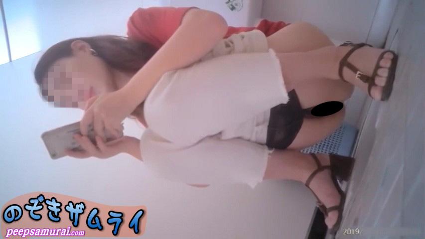 素人 - まるで透明人間!中華美女トイレ 5